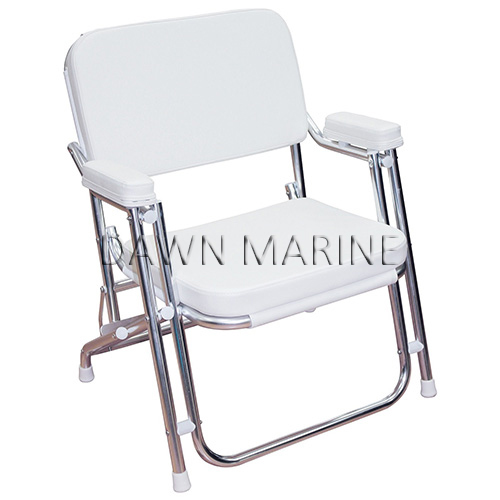 Folding Deck Chair With Cushion Dawn Marine