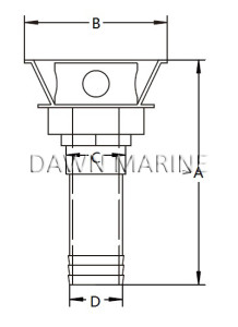 Stainless Steel Gas Tank Vent-2