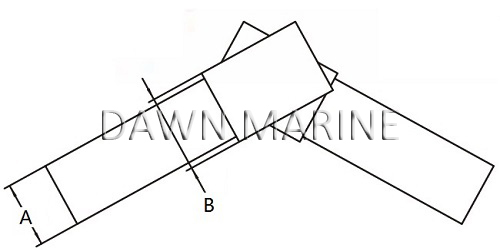 Stainless Steel Internal Swivelling Joint 10-2