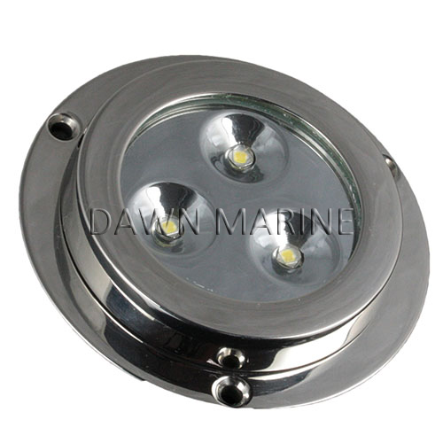 Aisi 316 Stainless Steel Led Underwater Light 9w Dawn Marine