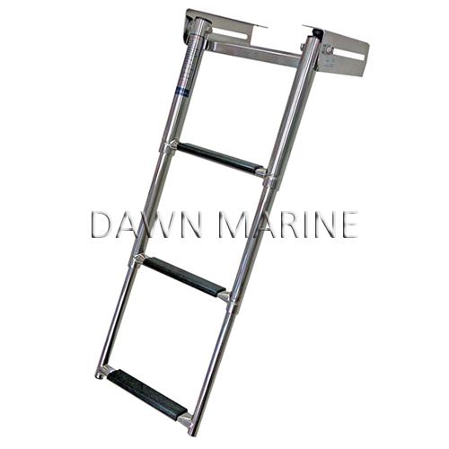 3 Step Under Platform Telescoping Swim Ladder Dawn Marine